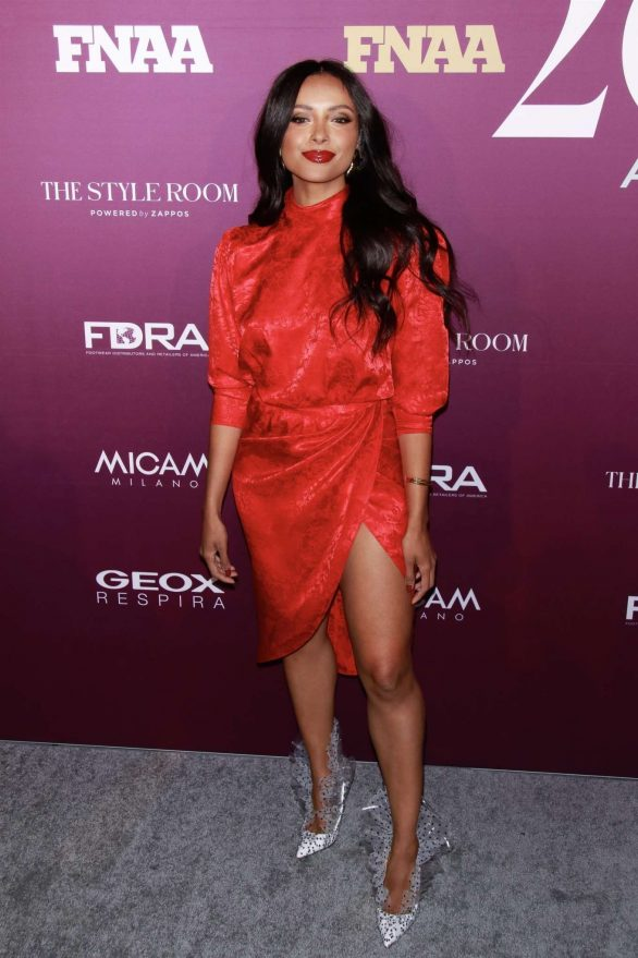 Kat Graham - Footwear News Achievement Awards IAC in New York City