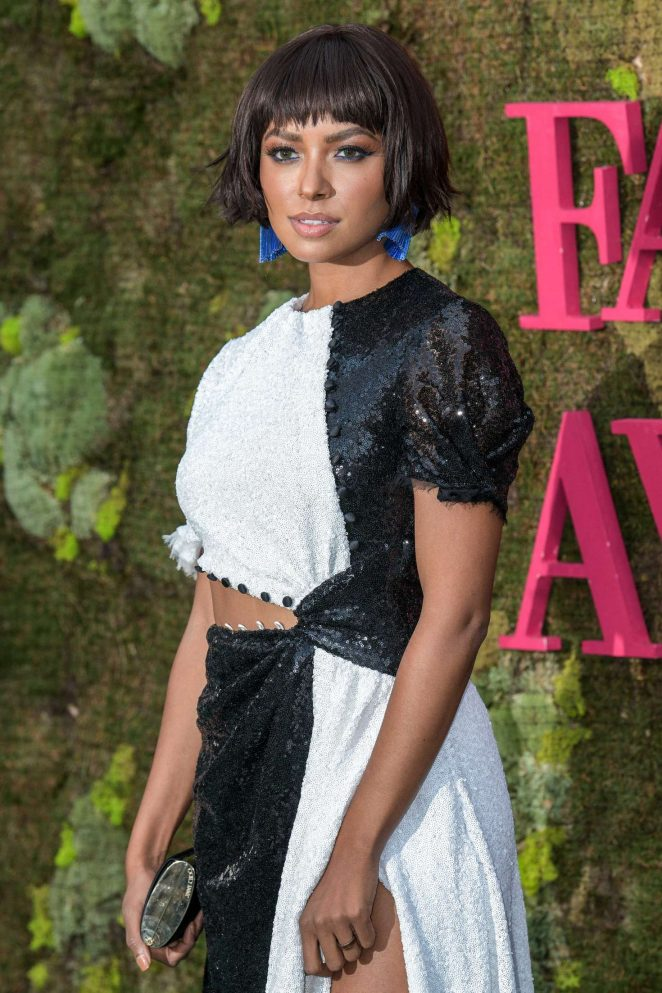 Kat Graham - Green Carpet Fashion Awards 2018 in Milan