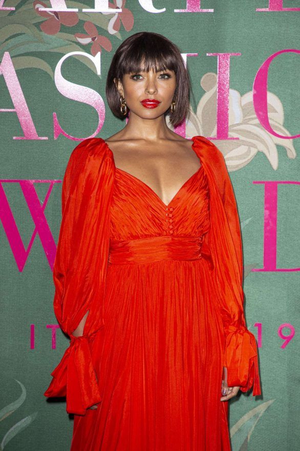 Kat Graham - Green Carpet Fashion Awards 2019 in Milan