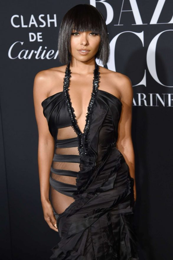 Kat Graham - Harper's BAZAAR Celebrates 'ICONS By Carine Roitfeld' in NYC