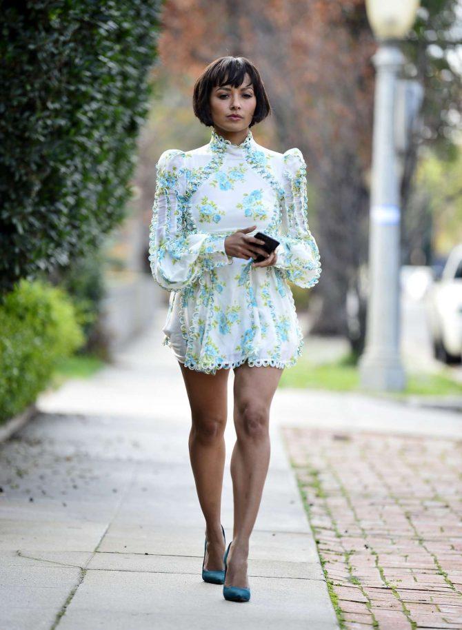 Kat Graham in Mini Dress -09