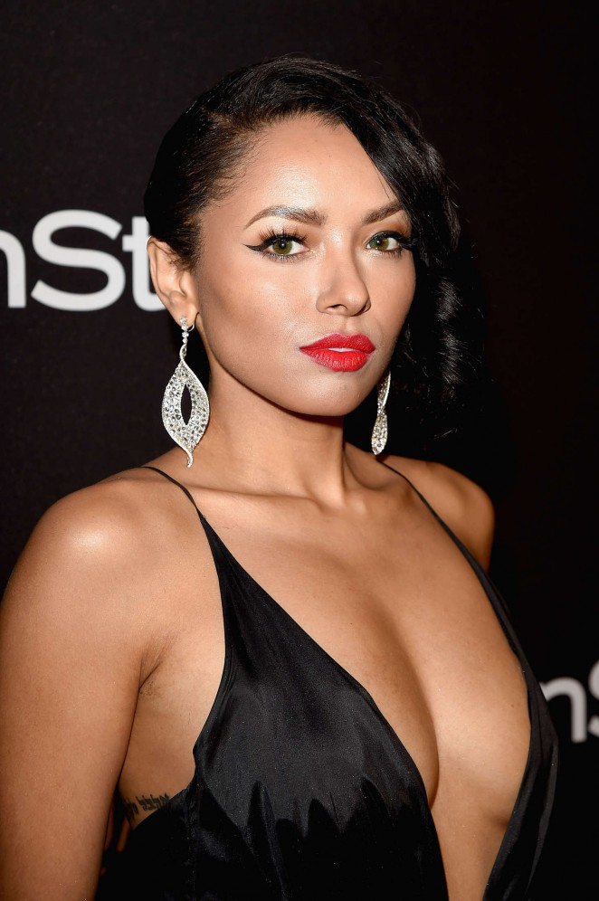 Kat Graham - InStyle and Warner Bros 2016 Golden Globe Awards Post-Party in Beverly Hills