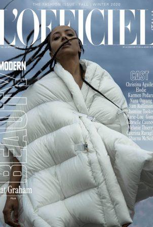 Kat Graham - L'Officiel Italy - Fall - Winter 2020