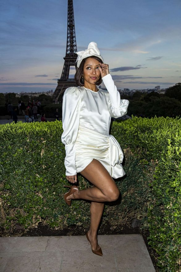 Kat Graham - L'Oreal Paris Fashion Show SS 2020 at Paris Fashion Week