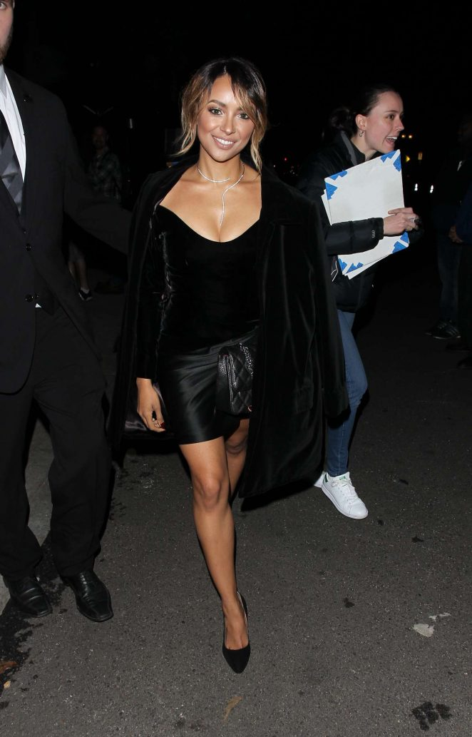 Kat Graham - Leaving The Art of Elysium 20th Anniversary Celebration in LA