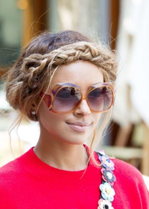 Kat Graham - Out in Milan - Italy