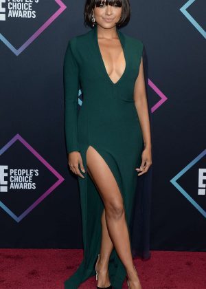 Kat Graham - People's Choice Awards 2018 in Santa Monica