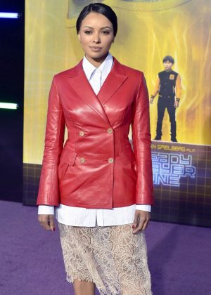 Kat Graham - 'Ready Player One' Premiere in Los Angeles