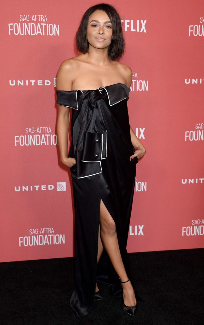Kat Graham - SAG-AFTRA Foundation's Patron of the Artists Awards in Beverly Hills
