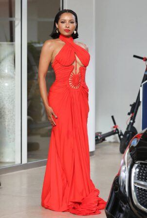 Kat Graham - Seen arriving at Hotel Martinez during Cannes Film Festival 2021