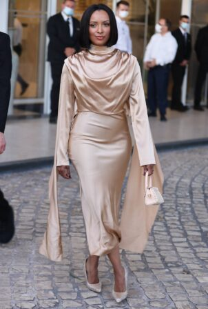 Kat Graham - Seen during Cannes Film Festival 2021 in Cannes