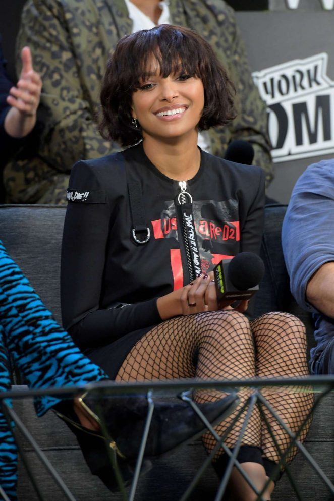 Kat Graham - 'Teenage Mutant Ninja Turtles' Panel at 2018 New York Comic Con