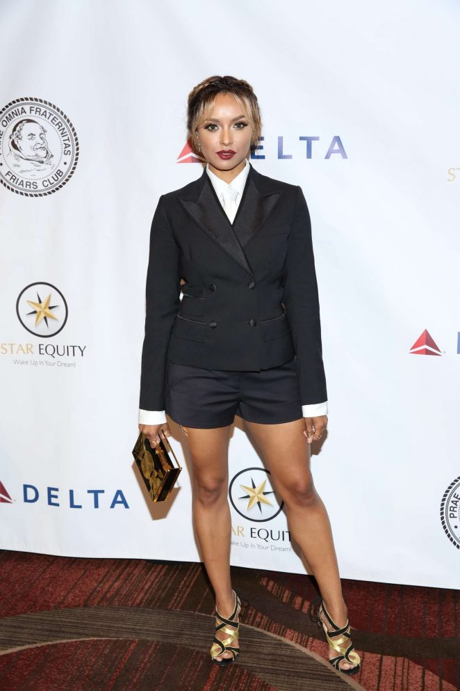 Kat Graham – The Friars Club honors Tony Bennett in New York