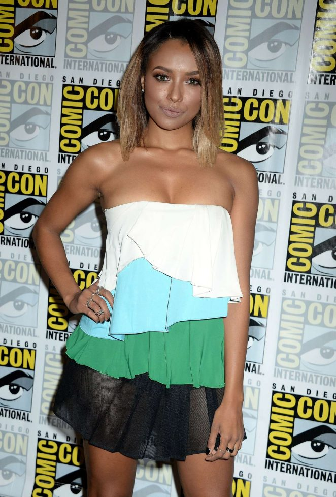 Kat Graham - 'The Vampire Diaries' Press Line at Comic-Con International in San Diego