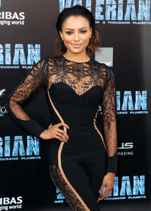 Kat Graham - 'Valerian and The City of a Thousand Planets' Premiere in Hollywood