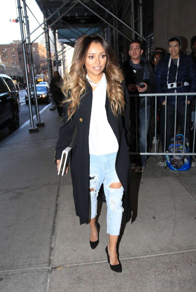 Kat Graham visits the FOX Studios in New York City