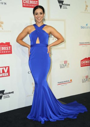 Kat Hoyos - 2017 Annual TV Week Logie Awards in Melbourne