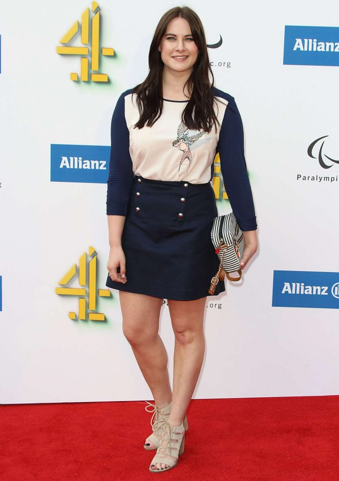 Kat Shoob: Channel 4 Red Carpet Paralympic Launch -03