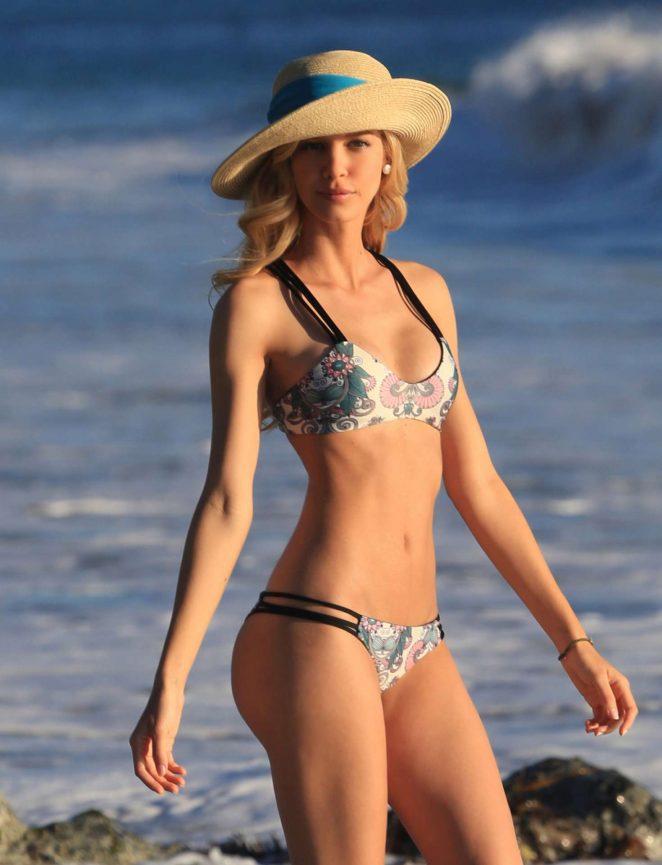 Kat Torres - Bikini Photoshoot for Mary grace Swimwear in Malibu