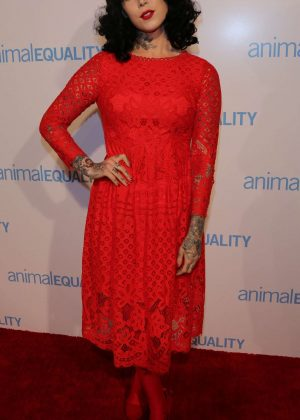 Kat Von D - Animal Equality 10th Anniversary Celebration Honoring Moby in LA
