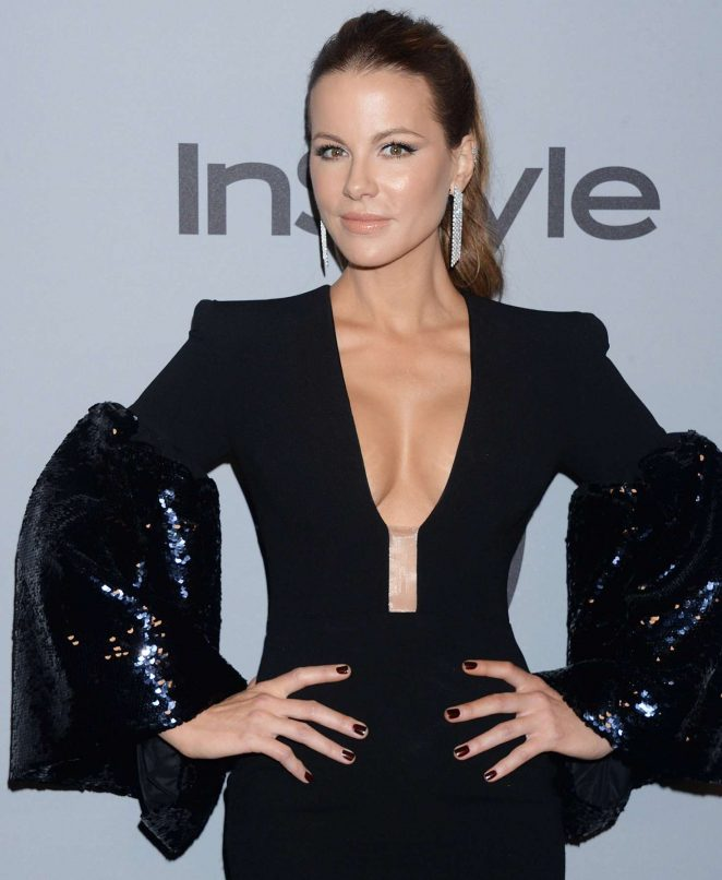 Kate Beckinsale- 2018 InStyle and Warner Bros Golden Globes After Party in LA