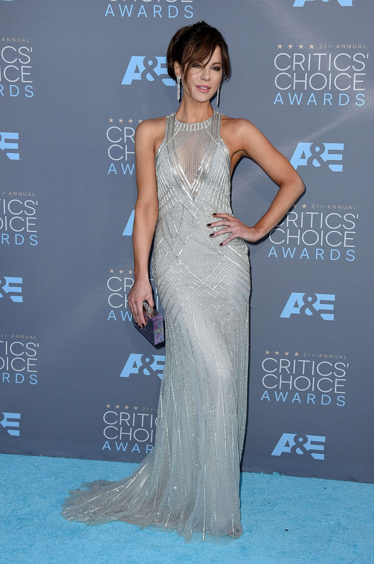 Kate Beckinsale 21st Annual Critics Choice Awards In