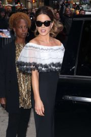 Kate Beckinsale - Arrives at Good Morning America in New York