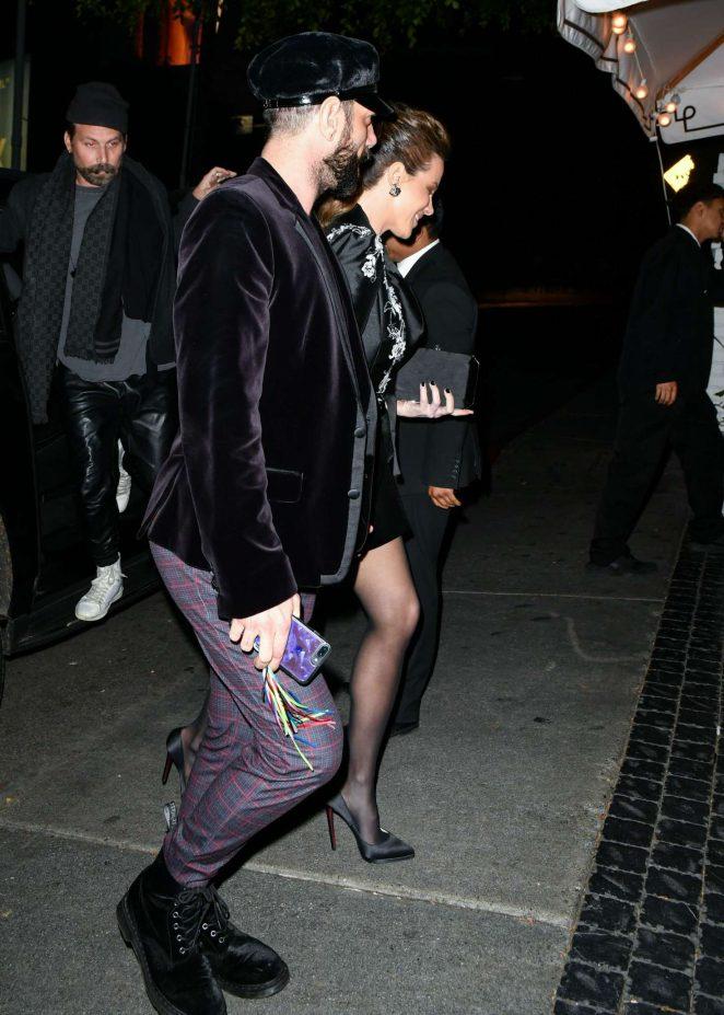 Kate Beckinsale - Arrives at Rita Ora's Birthday in Los Angeles