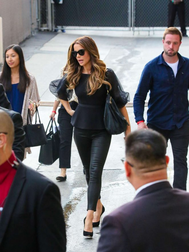 Kate Beckinsale: Arrives at the Jimmy Kimmel studio -03