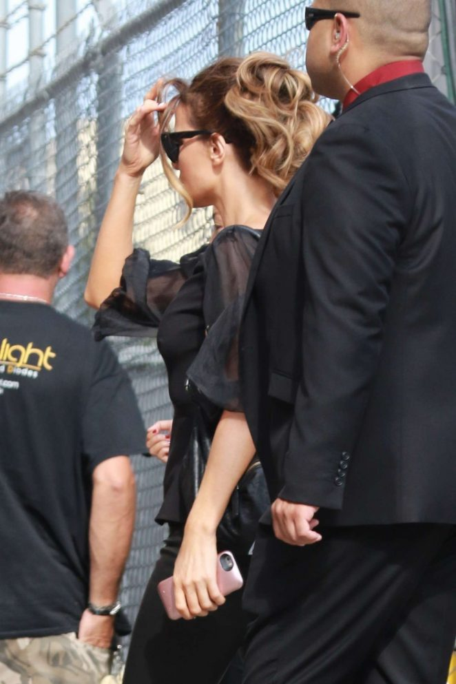 Kate Beckinsale: Arrives at the Jimmy Kimmel studio -06