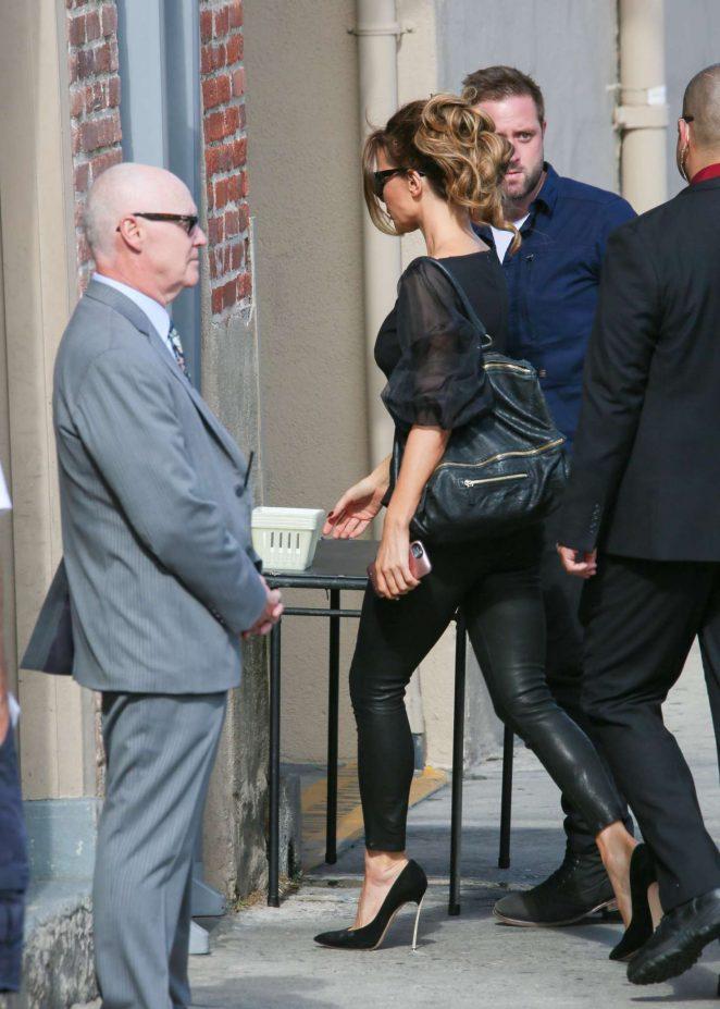 Kate Beckinsale: Arrives at the Jimmy Kimmel studio -12