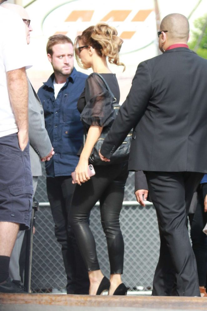 Kate Beckinsale: Arrives at the Jimmy Kimmel studio -13