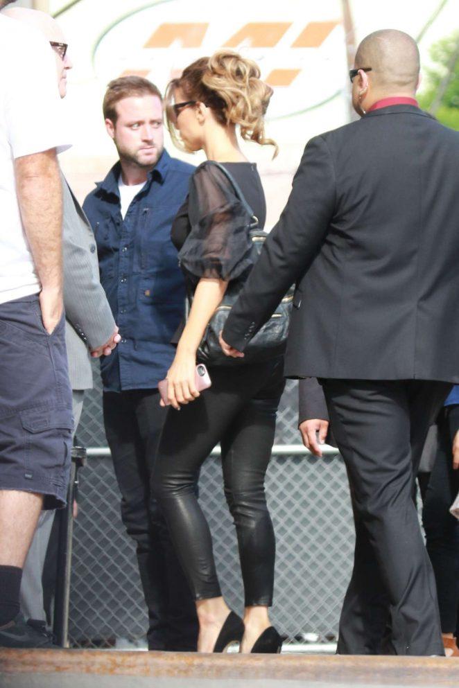 Kate Beckinsale: Arrives at the Jimmy Kimmel studio -13