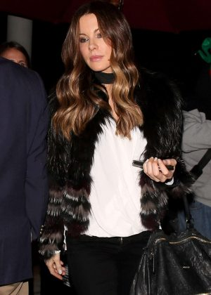 Kate Beckinsale at Craig's for dinner in Los Angeles