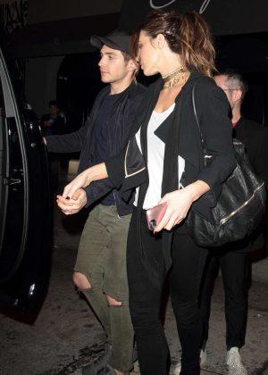 Kate Beckinsale at Craig's restaurant in Los Angeles
