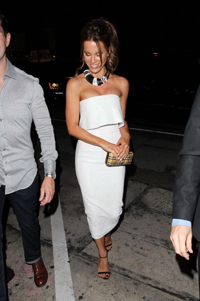 Kate Beckinsale at Craig's Restaurant in West Hollywood