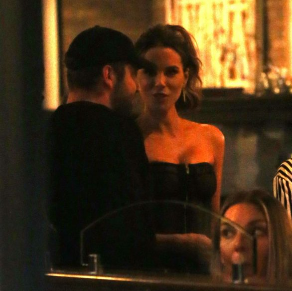 Kate Beckinsale at Craigs Restaurant in West Hollywood