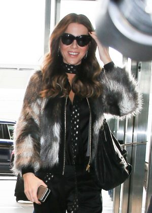 Kate Beckinsale at JFK Airport in New York City