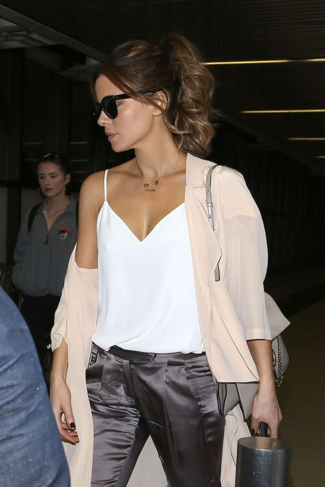 Kate Beckinsale at LAX Airport in Los Angeles