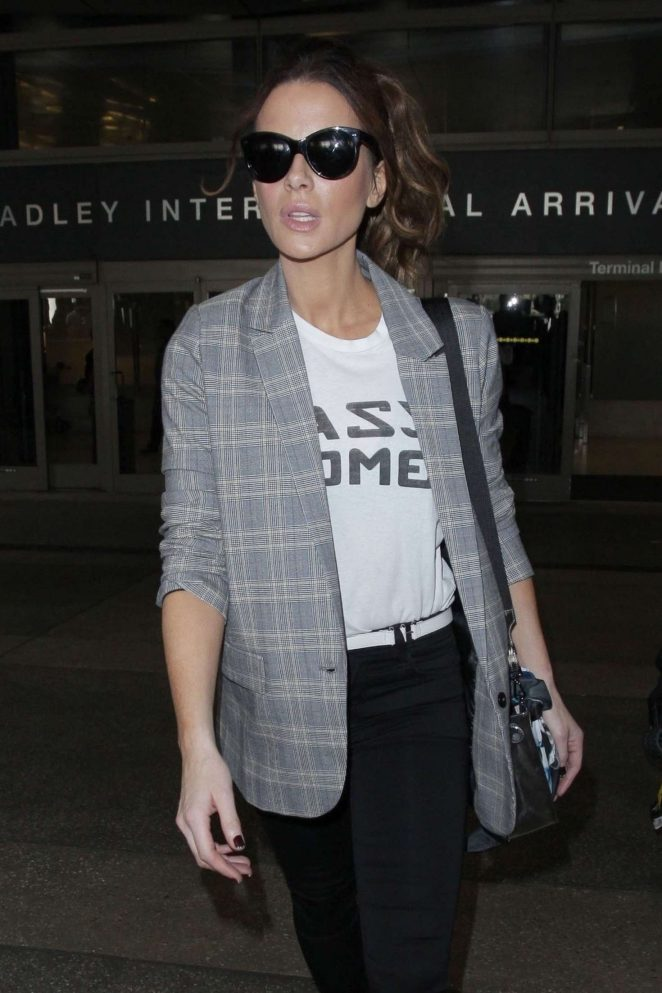Kate Beckinsale at LAX International Airport in LA