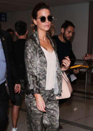 Kate Beckinsale at Los Angeles International Airport