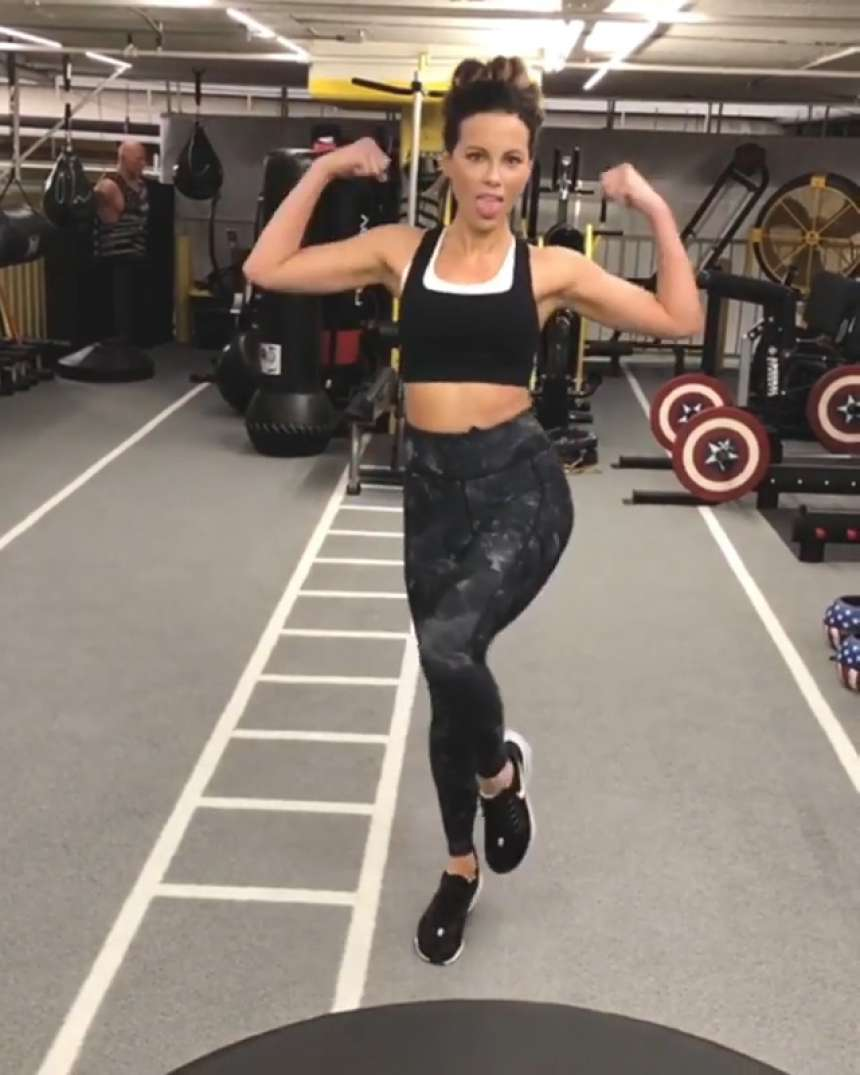 Kate Beckinsale 2019 : Kate Beckinsale at the gym: Personal Pics -04