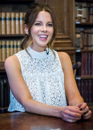 Kate Beckinsale at The Oxford Union in Oxford