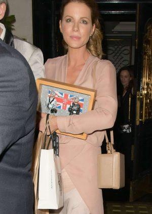 Kate Beckinsale - Celebrating her birthday at Scott's Restaurant in London