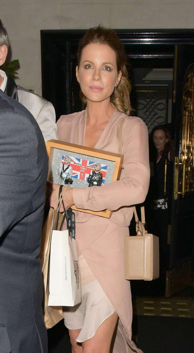 Kate Beckinsale – Celebrating her birthday at Scott's Restaurant in London