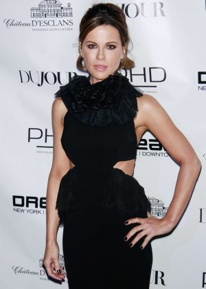 Kate Beckinsale - DU JOUR celebrates cover star Kate Beckinsale in NYC