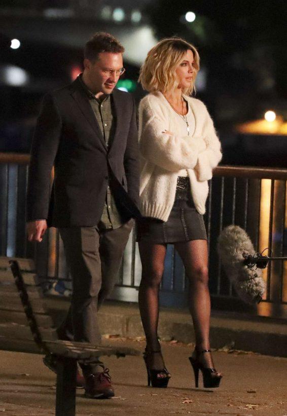Kate Beckinsale 2019 : Kate Beckinsale – Filming upcoming action film Jolt in London-11