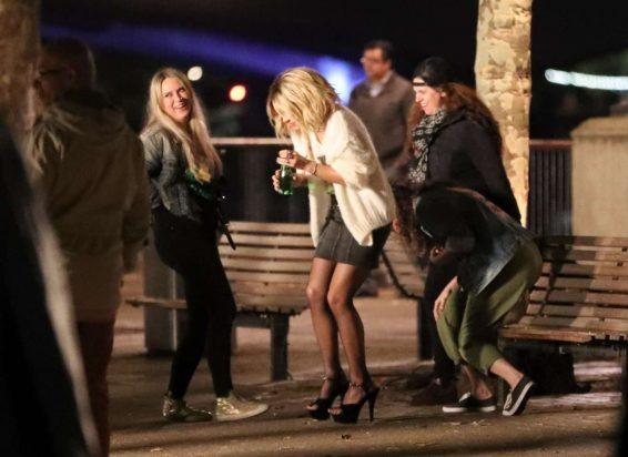 Kate Beckinsale 2019 : Kate Beckinsale – Filming upcoming action film Jolt in London-44