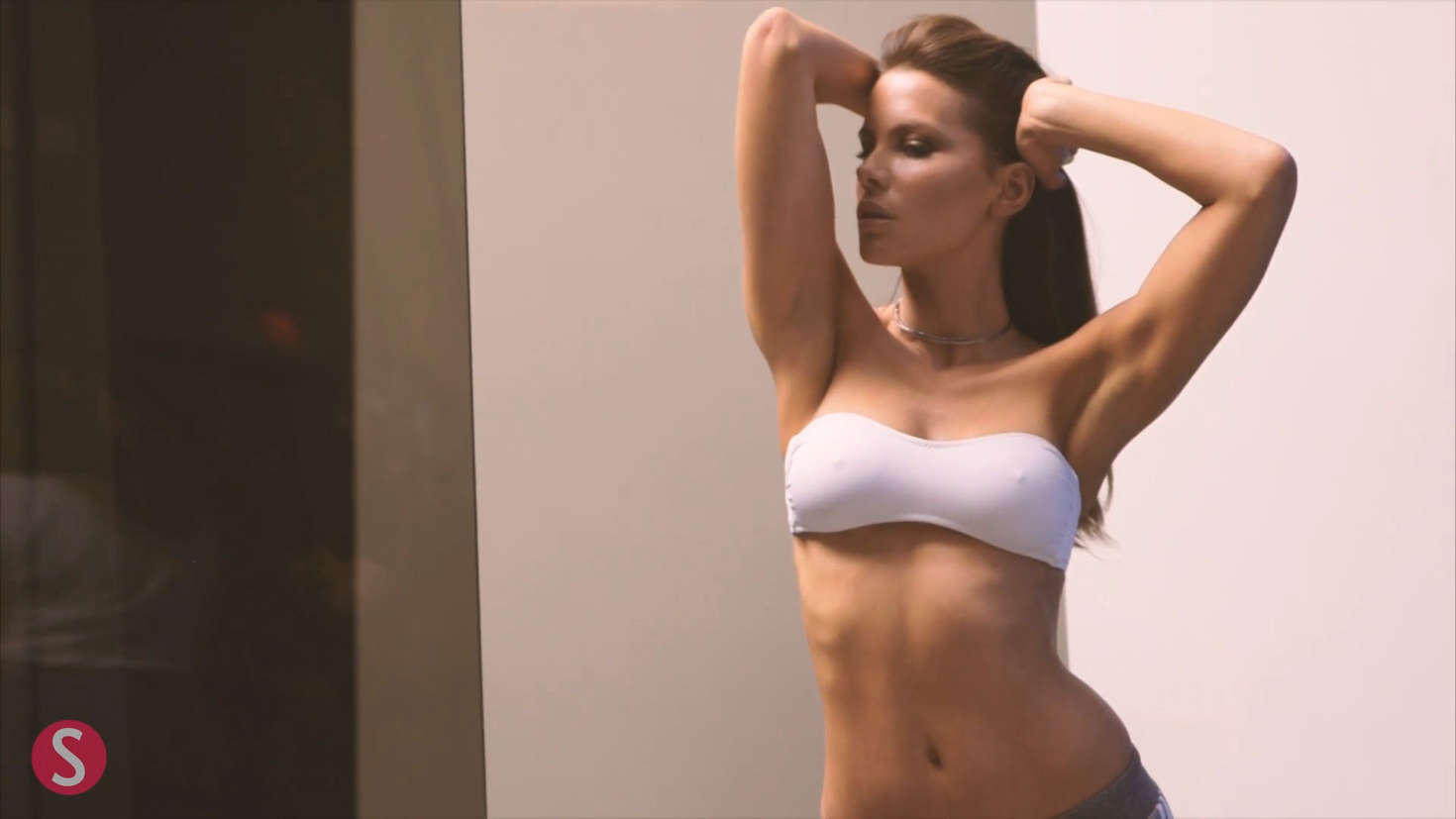 Kate Beckinsale for Shape 2017 (Behind the Scenes)