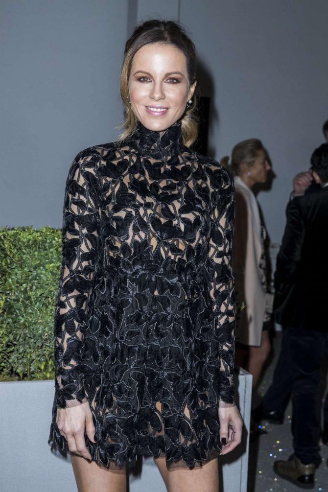 Kate Beckinsale - Giambattista Valli Haute Couture Show in Paris